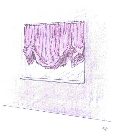 Выкройки для всех видов штор часть 9 городской стиль портьер