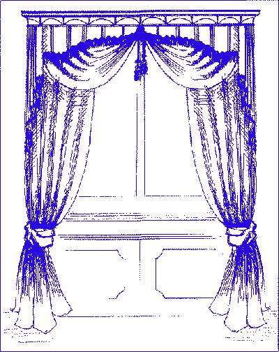 В натуральную величину выкройки штор