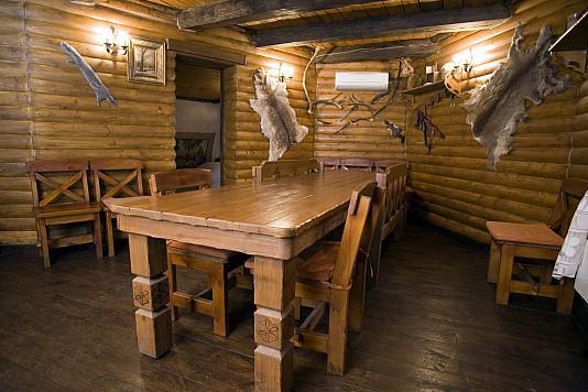 строительство охотничьего домика
